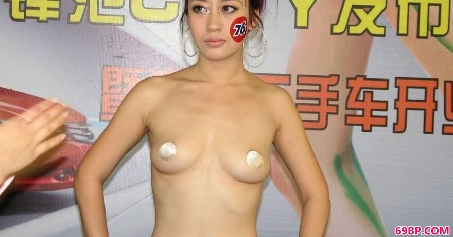 模特阿朱_本田车模人体彩绘