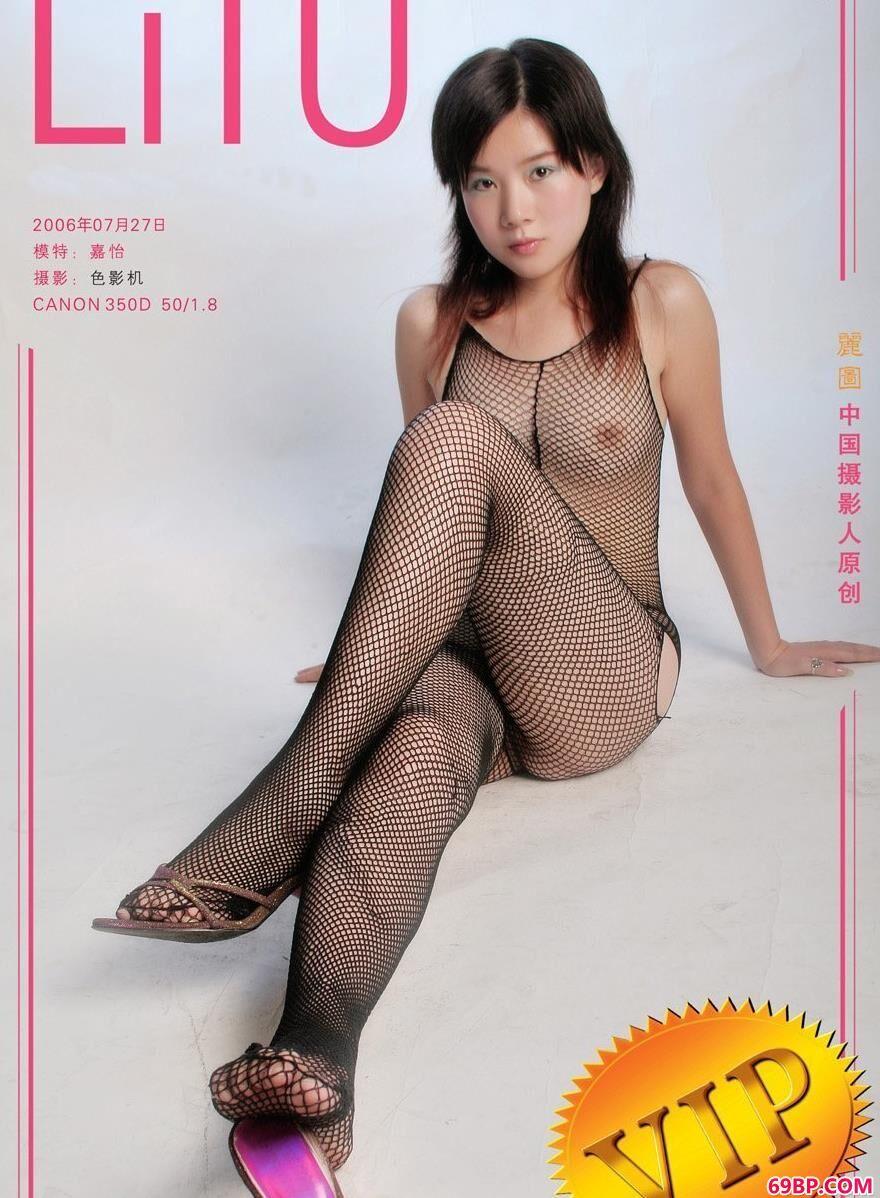 嘉怡影室拍摄连身丝袜1