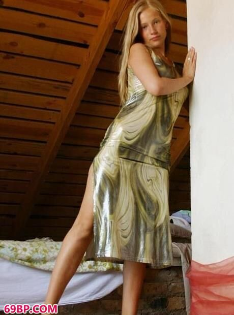 欧式小木屋里的艳妇