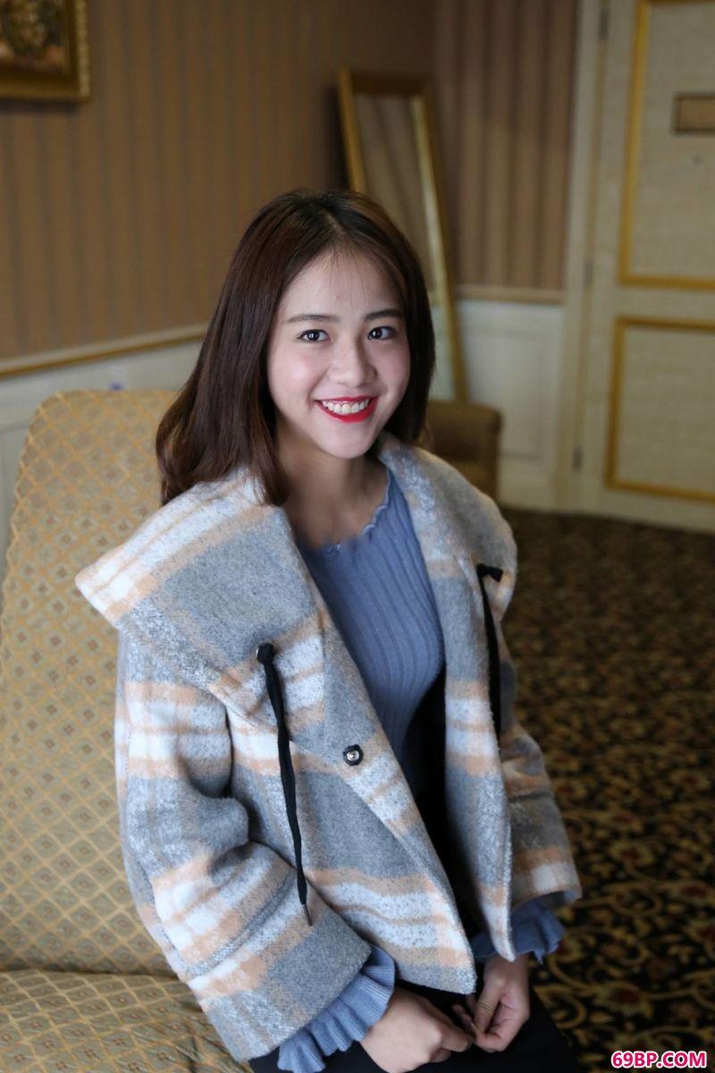 模特黎萍酒店美体第一辑